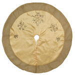 Silver & Gold Tree Skirt by Holiday Peak™