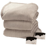OakRidge™ Micro Plush & Sherpa Heated Blanket