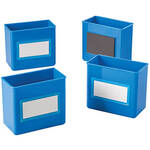 Magnetic Storage Boxes, Set of 4