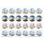 Religious Lighthouse Stickers Set of 240