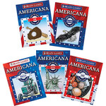 Brain Games® Large Print Americana Dot-to-Dot Set of 5