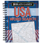 Brain Games® USA Word Search Book
