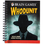 Brain Games® Whodunit Puzzle Book