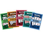 How to Play Card Games Books Set of 5