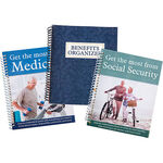 Medicare, Social Security & Benefits Organizer, 3 Piece Set