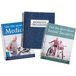Medicare, Social Security & Benefits Organizer, 3 Piece Set
