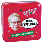 A Christmas Story Fudge Tin, Chocolate Walnut, 12 oz.