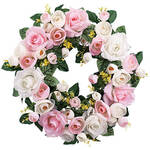 Vintage Rose Wreath by OakRidge™