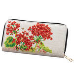 Designer Wallet Geraniums