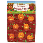 Personalized Pumpkin Patch Garden Flag