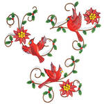 Metal Christmas Cardinal Plaques by Fox River™ Creations, Set of 3
