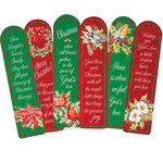 Christmas Blessings Bookmarks Set of 12