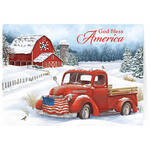 Personalized Christmas in the Country  Cards Set of 20