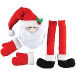 Santa Wreath Kit