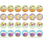 Personalized Children's Easter Stickers, Set of 240