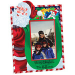 Personalized Santa's Christmas Bag of Presents Frame