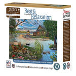 Rest & Relaxation Coffee by the Lake Puzzle, 550-Pc.