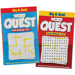 Big & Bold Word Quest Puzzles, Set of 2