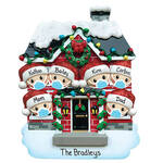 Personalized Covid Family Ornament