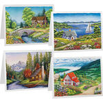 Landscape Note Cards, Set of 20