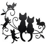 Cats and Kittens Metal Wall Decor