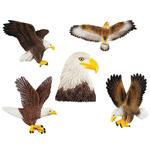 Eagle Magnets, Set of 5