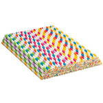 Colorful Paper Straws Set of 100
