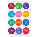 Inspirational Stickers set of 24 FREE GIFT