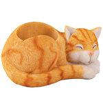 Sleeping Cat Desk Organizer