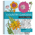Simple 1-2-3™ Country Gardens Color & Frame Book