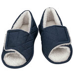 Silver Steps™ Open Toe Edema Slippers Mens