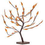 Battery-Operated Autumn Leaves Tree