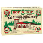Roy Toy Log Building Set – The Farm