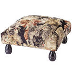 Tapestry Cat Footstool