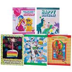 Childrens Birthday Card Variety Pack, Set of 20