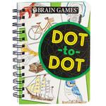 Brain Games® Dot-to-Dot Mini Book
