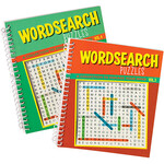 Wordsearch Puzzle Spiral Books, Vol. 3 and 4, Set of 2