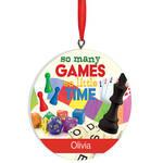 Personalized Board Game Ornament
