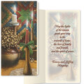 Candlelight Christmas Card Set/20   Card Only Personalization