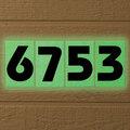 Glow In Dark House Numbers