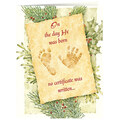 Christmas Certificate Card Set/20   Card Only Personalization