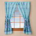 Oceanic Bathroom Window Curtain