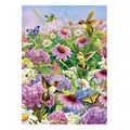 Hummingbird and Coneflower Jigsaw Puzzle