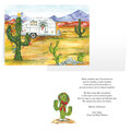 Desert Snowbirds Merry Christmas Personalized Christmas Card - Set of 20