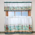 Lighthouse Kitchen Curtain & Valance Set