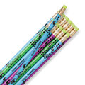 Pretty Peacock Pencils, Set of 12