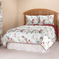Reversible Ruby Meadow Comforter