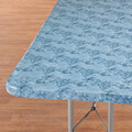 Marbled Elasticized Banquet Table Cover