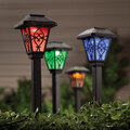 Color Changing Solar Lights, Set of 3