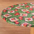 Apple Patch Vinyl Elasticized Tablecovers by Home-Style Kitchen™